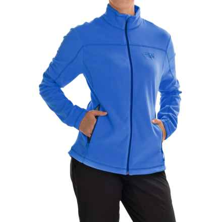 Mountain Hardwear Microchill Jacket - Fleece (For Women) in Bright Island Blue - Closeouts