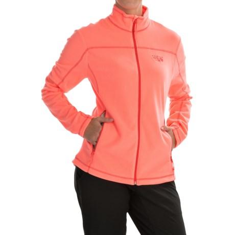 Mountain Hardwear Microchill Jacket - Fleece (For Women) in Coralescent