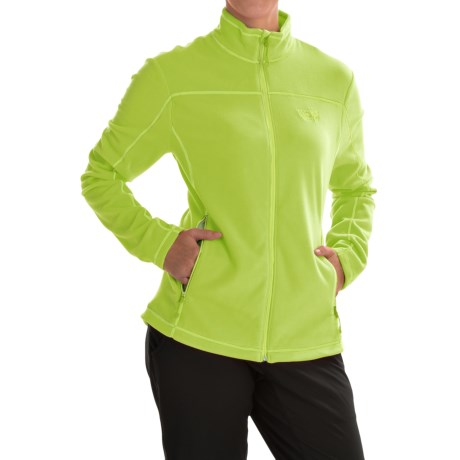 Mountain Hardwear Microchill Jacket - Fleece (For Women) in Fission