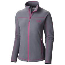 Mountain Hardwear Microchill Jacket - Fleece (For Women) in Graphite - Closeouts