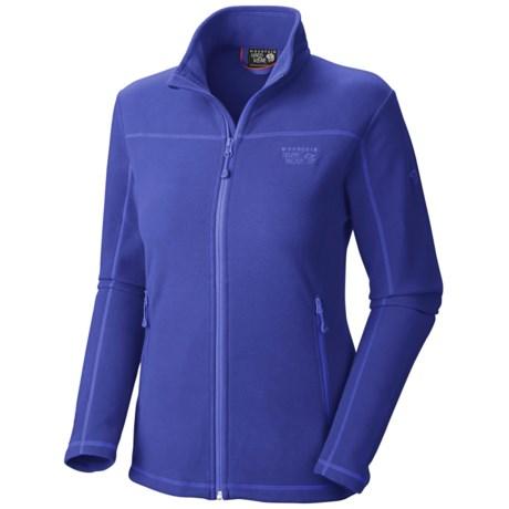 Mountain Hardwear Microchill Jacket - Fleece (For Women) in Nectar Blue