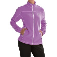 Mountain Hardwear Microchill Jacket - Fleece (For Women) in Northern Lights - Closeouts