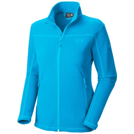Mountain Hardwear Microchill Jacket - Fleece (For Women) in Ocean Blue