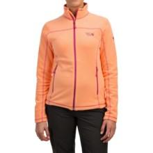 Mountain Hardwear Microchill Jacket - Fleece (For Women) in Peach - Closeouts