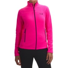 Mountain Hardwear Microchill Jacket - Fleece (For Women) in Pink Burst - Closeouts