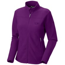 Mountain Hardwear Microchill Jacket - Fleece (For Women) in Plum - Closeouts