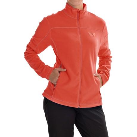 Mountain Hardwear Microchill Jacket - Fleece (For Women) in Poppy Red