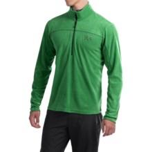 Mountain Hardwear Microchill Lite Fleece Pullover Jacket- Zip Neck, Long Sleeve (For Men) in Serpent Green - Closeouts