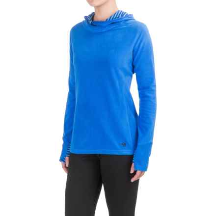 Mountain Hardwear MicroChill Lite Fleece Tunic Shirt - UPF 50, Long Sleeve (For Women) in Bright Island Blue - Closeouts