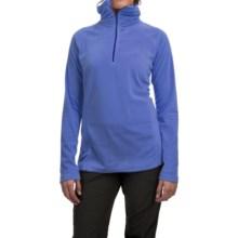 Mountain Hardwear MicroChill Lite Wick.Q® Fleece Shirt - Zip Neck (For Women) in Bright Bluet - Closeouts