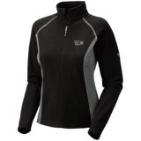 Mountain Hardwear MicroChill Tech Pullover - Zip Neck (For Women)
