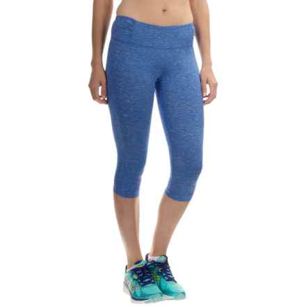 Mountain Hardwear Mighty Activa Capris (For Women) in Bright Island Blue - Closeouts
