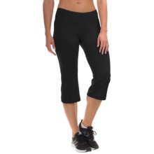Mountain Hardwear Mighty Activa Crop Pants (For Women) in Black - Closeouts