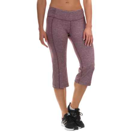 Mountain Hardwear Mighty Activa Crop Pants (For Women) in Purple Dahlia - Closeouts