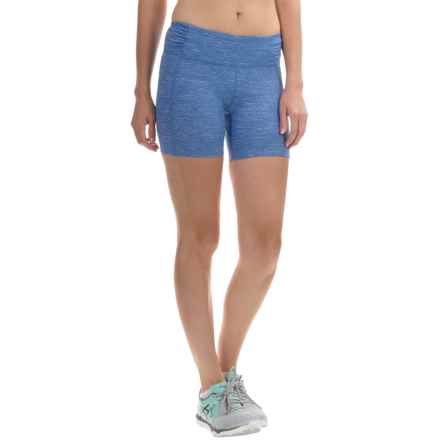 Mountain Hardwear Mighty Activa Shorts (For Women) in Bright Island Blue - Closeouts