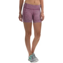 Mountain Hardwear Mighty Activa Shorts (For Women) in Purple Dahlia - Closeouts