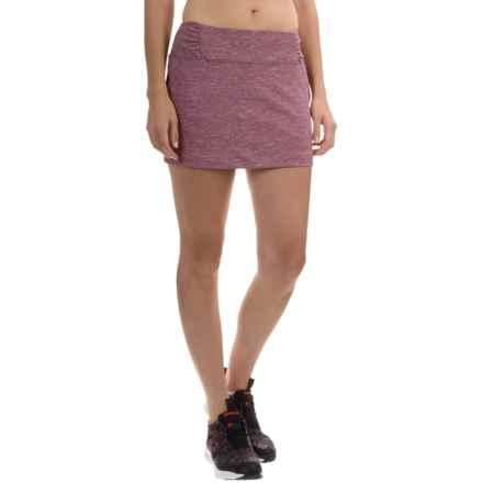 Mountain Hardwear Mighty Activa Skort (For Women) in Dark Raspberry - Closeouts