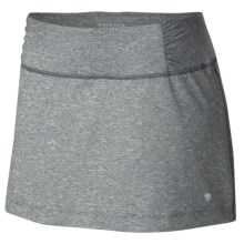 Mountain Hardwear Mighty Activa Skort (For Women) in Graphite - Closeouts