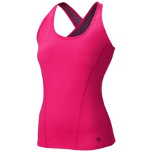 Mountain Hardwear Mighty Activa Tank Top (For Women) in Bright Rose - Closeouts