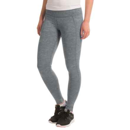 Mountain Hardwear Mighty Activa Tights (For Women) in Zinc - Closeouts