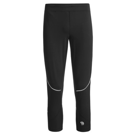 Mountain Hardwear Mighty Power 3/4 Tights (For Men) in Black