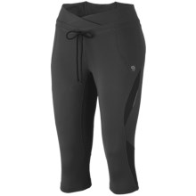 Mountain Hardwear Mighty Power Capris (For Women) in Shark - Closeouts