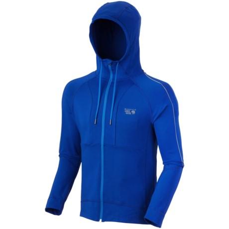 Mountain Hardwear Mighty Power Hooded Jacket (For Men) in Azul
