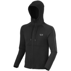 Mountain Hardwear Mighty Power Hooded Jacket (For Men) in Shark