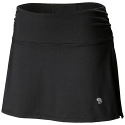 Mountain Hardwear Mighty Power Skort - UPF 30+ (For Women) in Black
