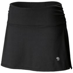 Mountain Hardwear Mighty Power Skort - UPF 30+ (For Women) in Black