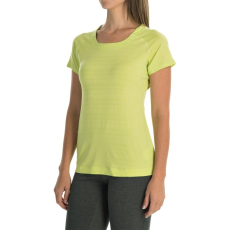 Mountain Hardwear Mighty Stripe T Shirt Short Sleeve (For Women)