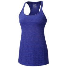 Mountain Hardwear Mighty Stripe Tank Top - Racerback (For Women) in Nectar Blue - Closeouts