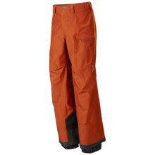 Mountain Hardwear Minalist Shell Pants - Waterproof (For Men) in Dark Adobe - Closeouts