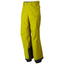 Mountain Hardwear Minalist Shell Pants - Waterproof (For Men) in Python Green - Closeouts