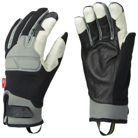 Mountain Hardwear Minus One Gloves - Waterproof (For Men) in Black