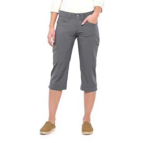 Mountain Hardwear Mirada Capris - UPF 50 (For Women) in Graphite