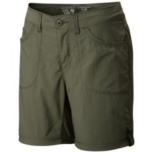 Mountain Hardwear Mirada Cargo Shorts (For Women) in Mosstone - Closeouts