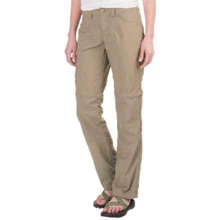 Mountain Hardwear Mirada Convertible Pants - Zip-Off Legs (For Women) in Khaki - Closeouts