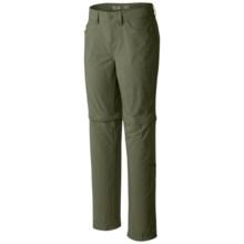Mountain Hardwear Mirada Convertible Pants - Zip-Off Legs (For Women) in Mosstone - Closeouts