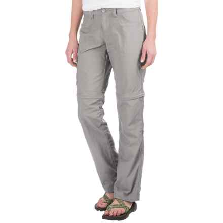 Mountain Hardwear Mirada Convertible Pants - Zip-Off Legs (For Women) in Steam - Closeouts