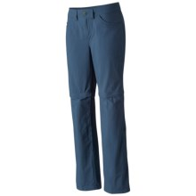 Mountain Hardwear Mirada Convertible Pants - Zip-Off Legs (For Women) in Zinc - Closeouts