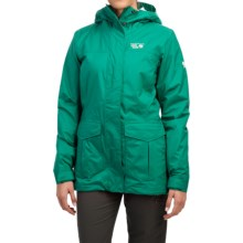 Mountain Hardwear Miss Snow It All Dry.Q® Core Jacket - Insulated (For Women) in Bright Emerald - Closeouts