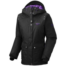 Mountain Hardwear Miss Snow It All Jacket - Waterproof, Insulated (For Women) in Black