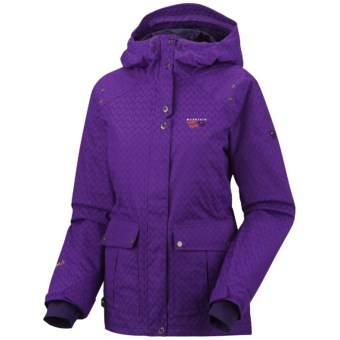 Mountain Hardwear Miss Snow It All Jacket - Waterproof, Insulated (For Women) in Iris