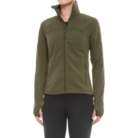Mountain Hardwear Mistrala Jacket (For Women) in Peatmoss