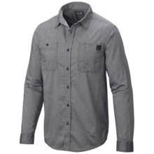 Mountain Hardwear Mittleman Shirt - Long Sleeve (For Men) in Hardwear Navy - Closeouts