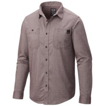 Mountain Hardwear Mittleman Shirt - Long Sleeve (For Men) in New Cinder - Closeouts