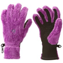 Mountain Hardwear Monkey Gloves - Fleece, Touch-Screen Compatible (For Women) in Berry Jam - Closeouts