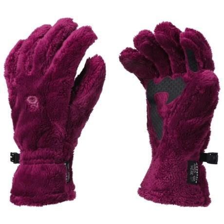 Mountain Hardwear Monkey Gloves (For Women) in Red Onion
