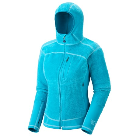 Mountain Hardwear Monkey Lite Fleece Jacket - Polartec®, Thermal Pro® (For Women) in Casper/Deep Turquoise